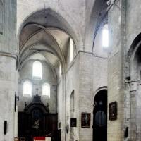 Le transept et la tour-lanterne vus vers le sud-ouest (2015)