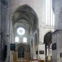 Le transept et la tour-lanterne vus vers le nord-est (2015)