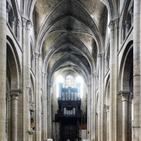 La nef vue vers l'ouest (2015)
