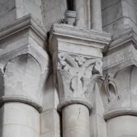 Chapiteaux du bas-côté sud de la nef (2015)