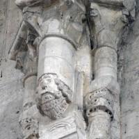 Retombée de la voûte du transept sur le côté est (2015)