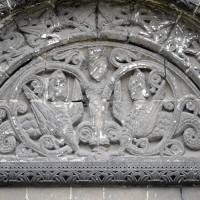 Le tympan du portail nord de la nef (2015)