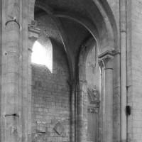L'arcade de la dernière travée nord de la nef (1995)