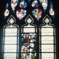 Vitrail de la Charité de Saint-Martin (1997)