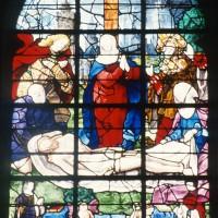 Vitrail de la Mise au Tombeau (1997)