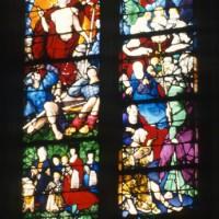 Vitrail des Scènes de la Vie de la Vierge et de la Vie du Christ (1997)