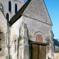 Le choeur de l'église vu du sud-est (1997)