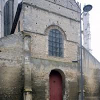 La façade vue du nord-ouest (2015)