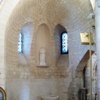 L'abside du choeur nord vue vers l'est (2008)