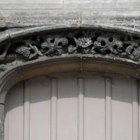 Détails de la mouluration du portail (2016)