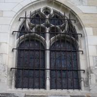 Fenêtre du bas-côté nord-ouest de la nef (2016)
