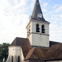 Les parties orientales de l'église vues du nord-est (2016)