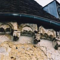 Corniche beauvaisine de l'abside (2003)