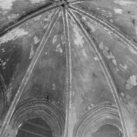 Vue partielle de la voûte de l'abside (1974)