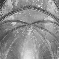 La voûte de l'abside vue vers l'est (1974)