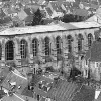 La chapelle vue du nord-est depuis la tour sud de Saint-Pierre
