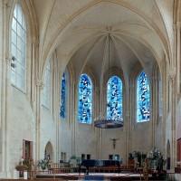 L'abside vue vers l'est (2002)