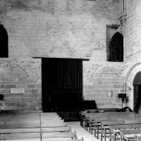Les parties basses du revers de la façade ouest (1980)