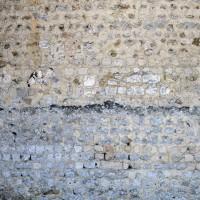 Appareil du mur nord de la nef (2015)