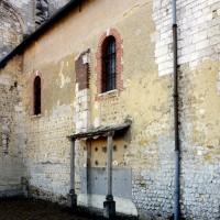 Vue partielle du mur nord de la nef depuis le nord-ouest (2008)