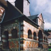 Le porche vu du nord-ouest (2003)