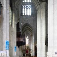 Le bas-côté ouest du transept vu vers le nord (2015)