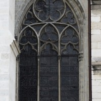 La fenêtre de la première chapelle sud (2015)