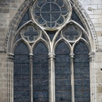 La fenêtre de la seconde chapelle sud (2015)