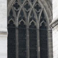 La fenêtre est du bas-côté est du transept (2015)