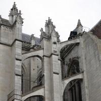 Arcs-boutants du nord-ouest du transept (2015)