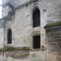 L'ensemble sacristie-trésorerie vu du nord-ouest (2015)