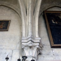 Retombée des voûtes de la sacristie (1997)