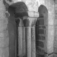 Baies du clocher vues depuis l'intérieur de la cage (1994)