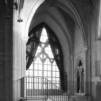 Le bras nord du transept vu vers le nord-est (1991)