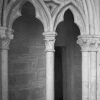 Détails de la baie du triforium du bras nord du transept (1991)