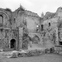 Vue partielle du palais vers le nord-ouest (1980)