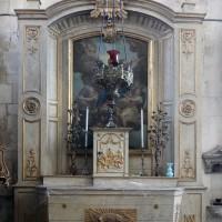 L'autel-retable de la chapelle de la Vierge (2016)