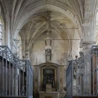 La chapelle de la Vierge vue vers l'est (2016)