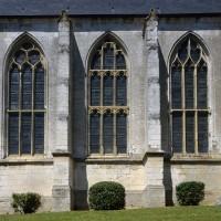 Les fenêtres du mur sud de la nef (2016)