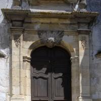 Le portail ouest de la nef (2016)