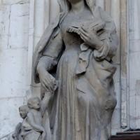 Chapelle de la Vierge : l'Education de la Vierge (2016)