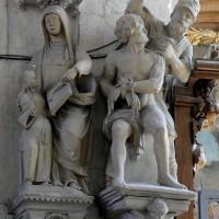 Chapelle de la Vierge : l'Education de la Vierge et le martyr de saint Quentin (2016)