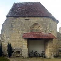 La chapelle vue du sud (2016)