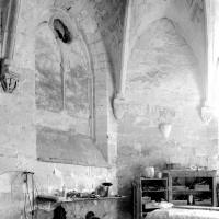 Vue partielle de l'intérieur de la chapelle vers le nord-est (1979)