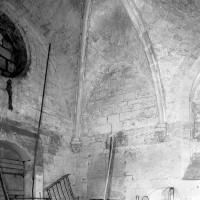 Vue partielle de l'intérieur de la chapelle vers le nord-ouest (1979)
