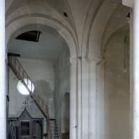 Vue partielle du transept vers le nord (2003)