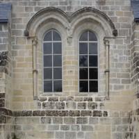 Fenêtres du mur nord de la chapelle nord (2015)