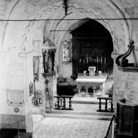 L'intérieur vu vers le nord-est (1970)