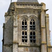 L'étage du beffroi du clocher vu de l'ouest (2016)