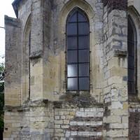 Vie partielle de l'abside depuis l'est (2016)